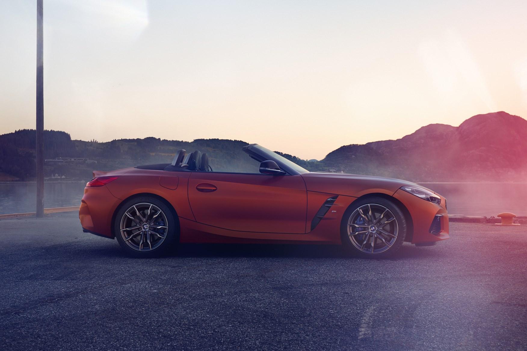 BMW Z4 (2019) M40i First Edition side profile