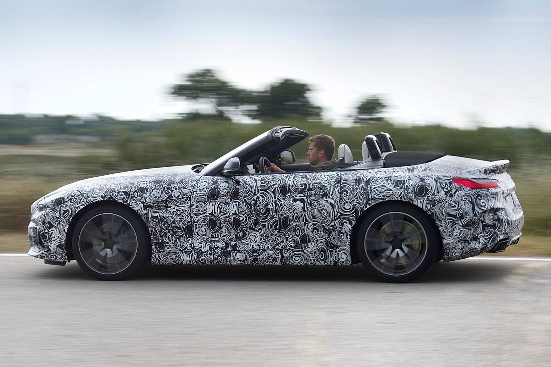 Prototype drive of BMW Z4 Roadster coming in 2019