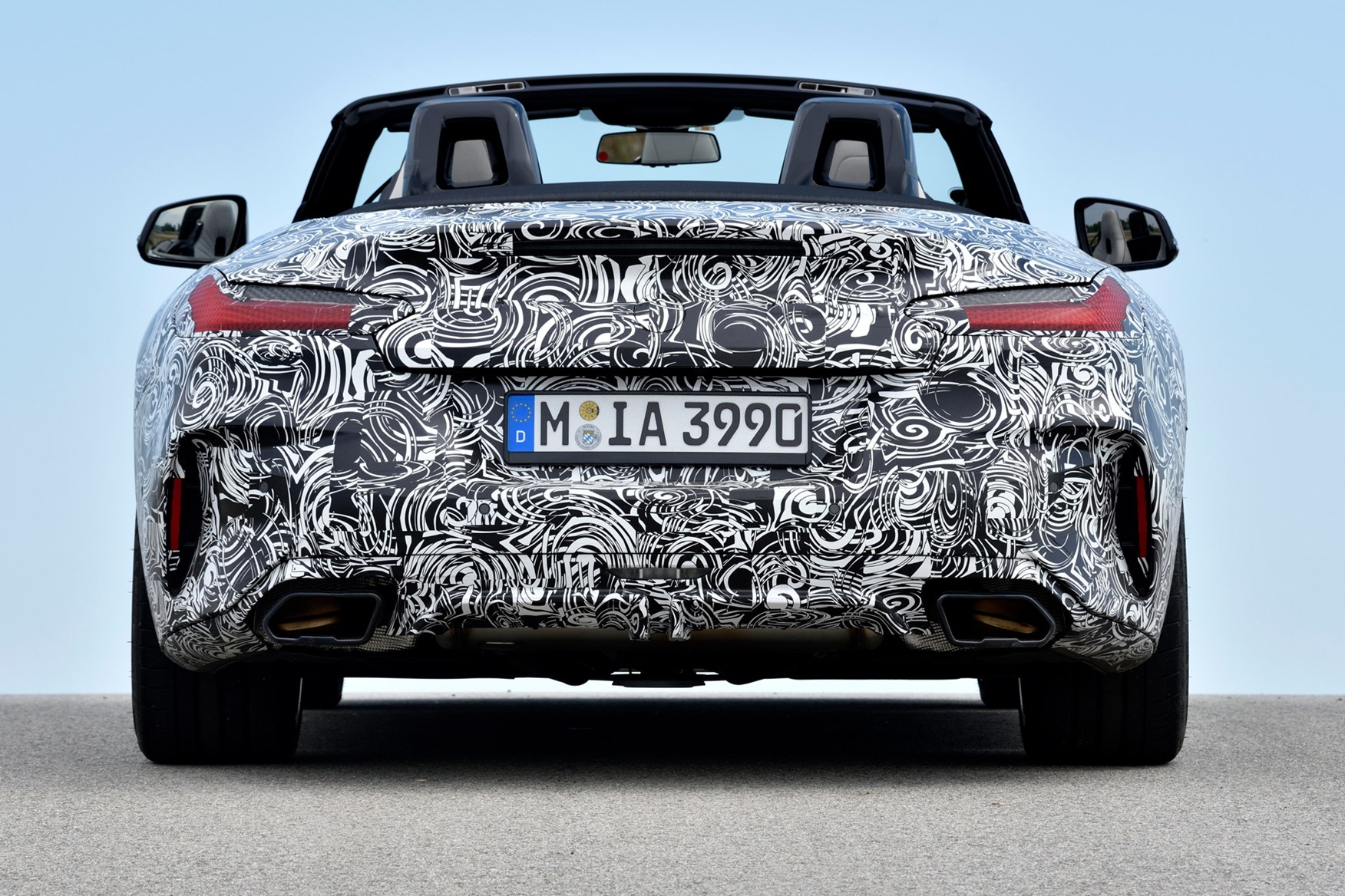 BMW Z4 2019 rear view