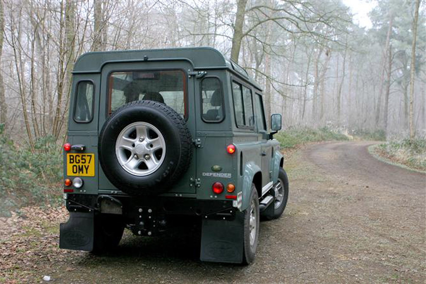 Land Rover Defender 2007-2016 review on Parkers Vans - rear exterior