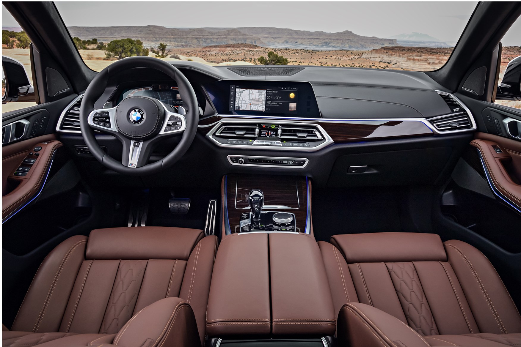BMW X5 2018 interior shot