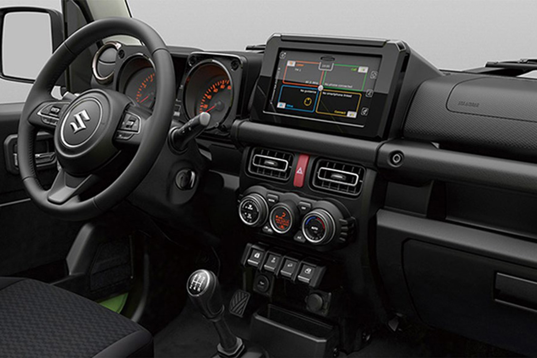 Suzuki Jimny 2019 - interior view