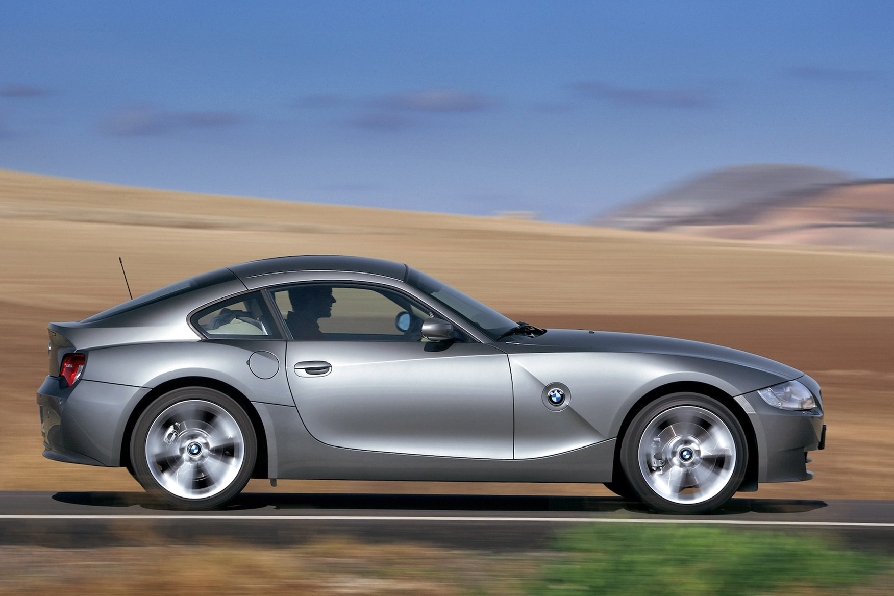 The BMW Z4 Coupe
