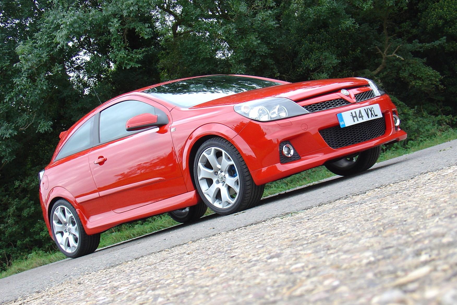 The Vauxhall Astra VXR
