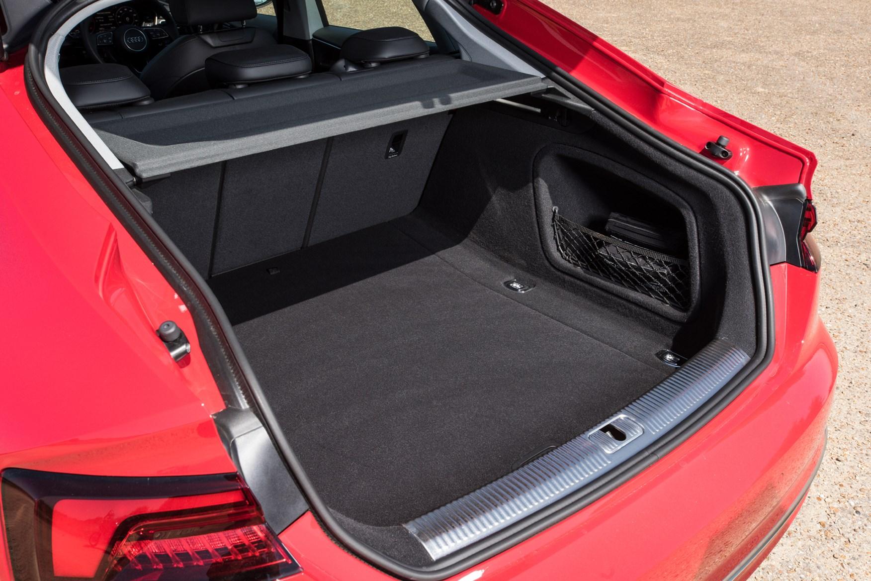 Audi A5 Sportback boot