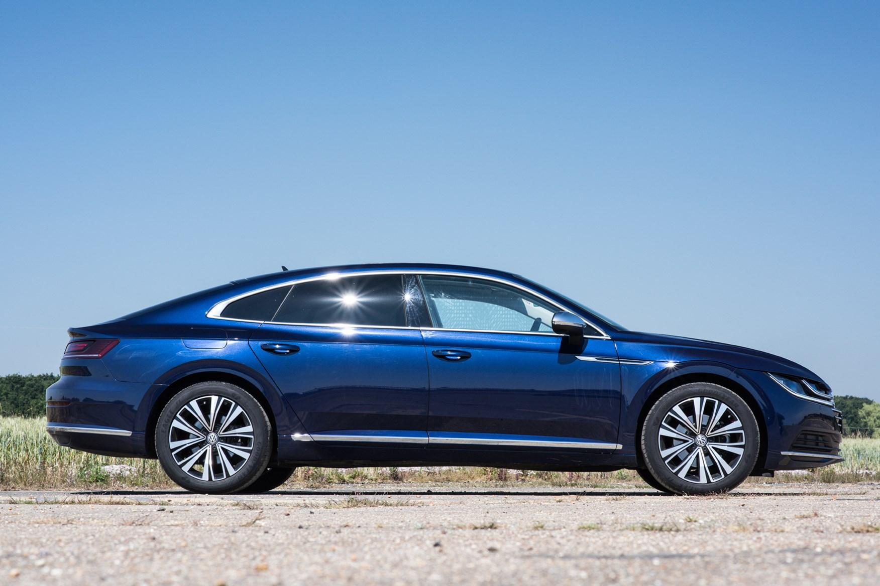 VW Arteon side profile