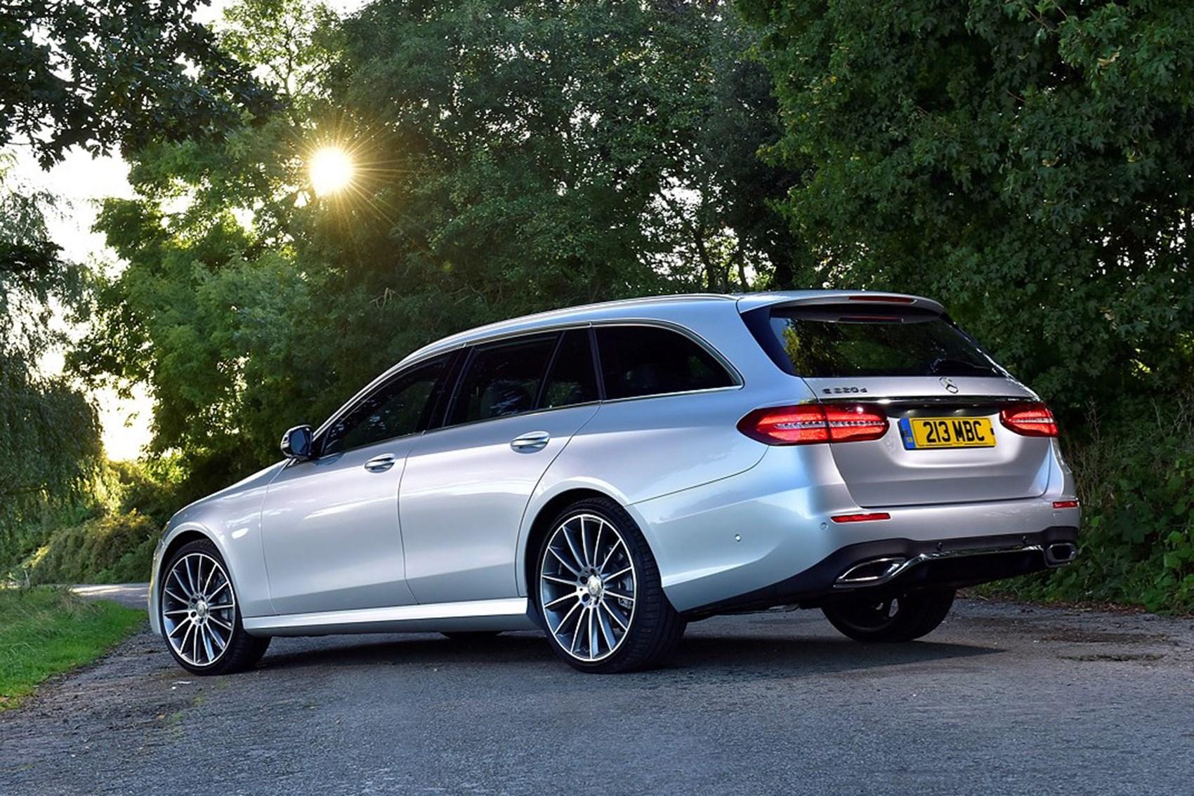 Mercedes-Benz E-Class - best towing cars reviews