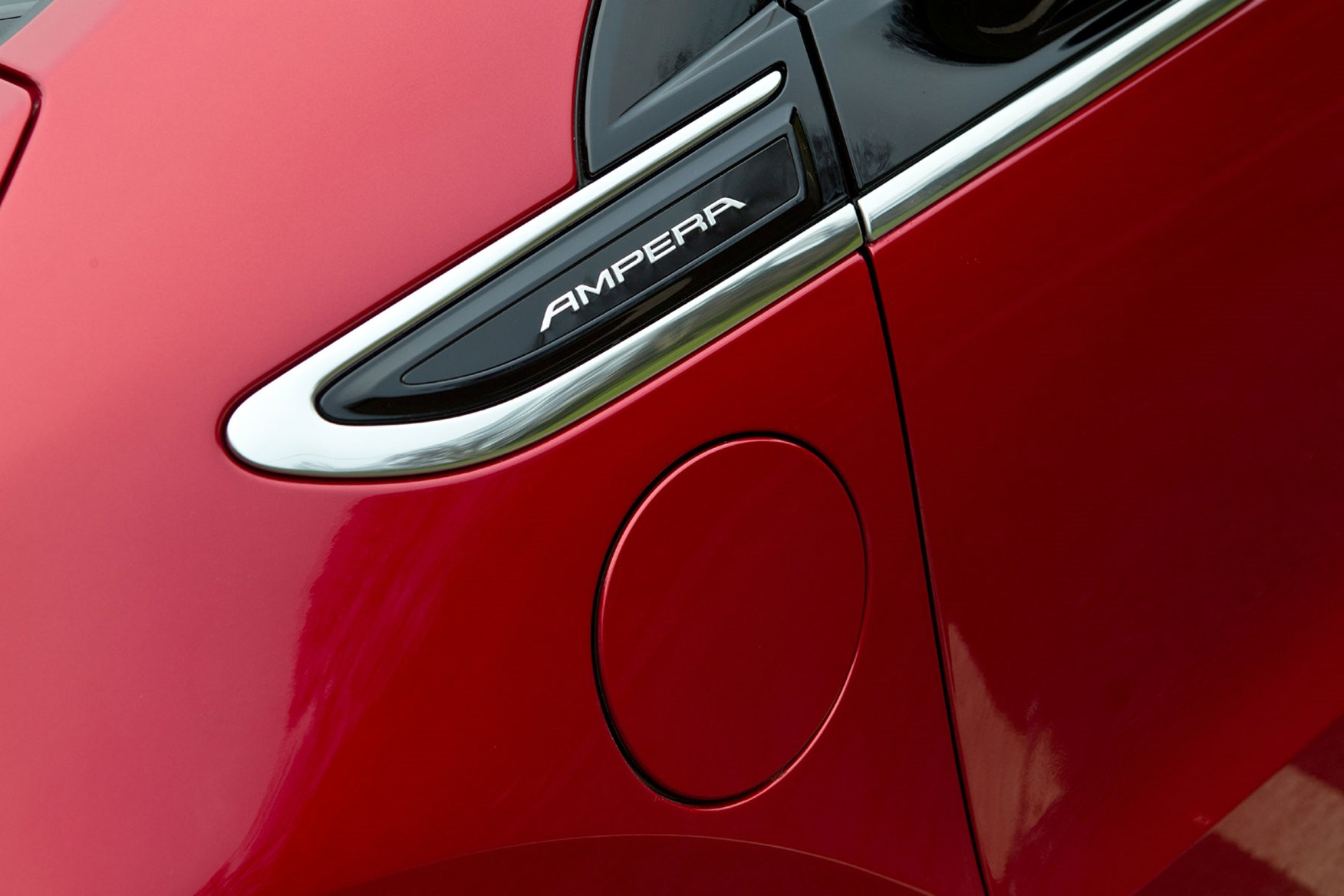 Vauxhall Ampera charge port cover