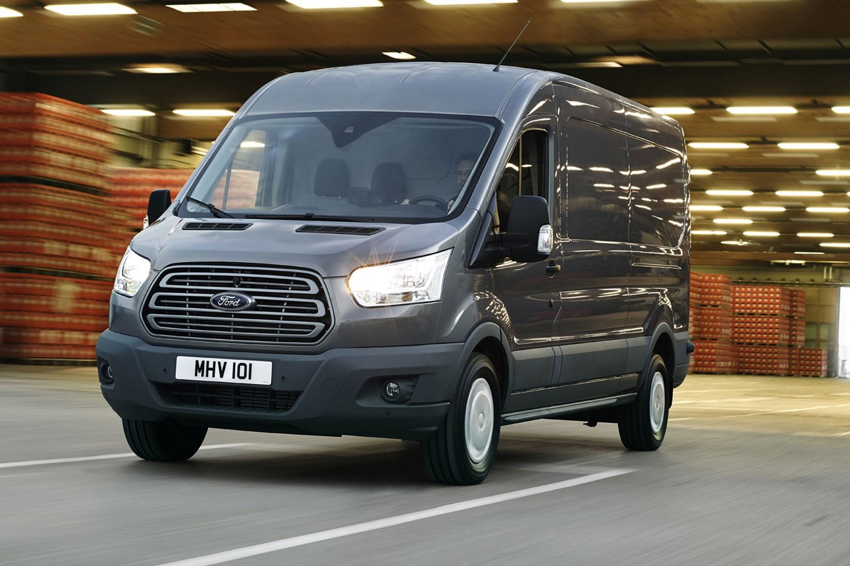 Ford Transit Best Large  T Vans For Mpg