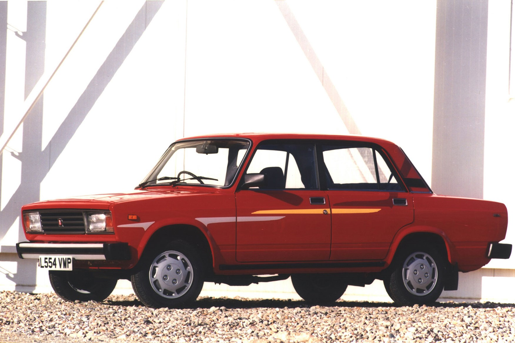 Lada Riva - the most popular car in the world, and based on the Fiat 124
