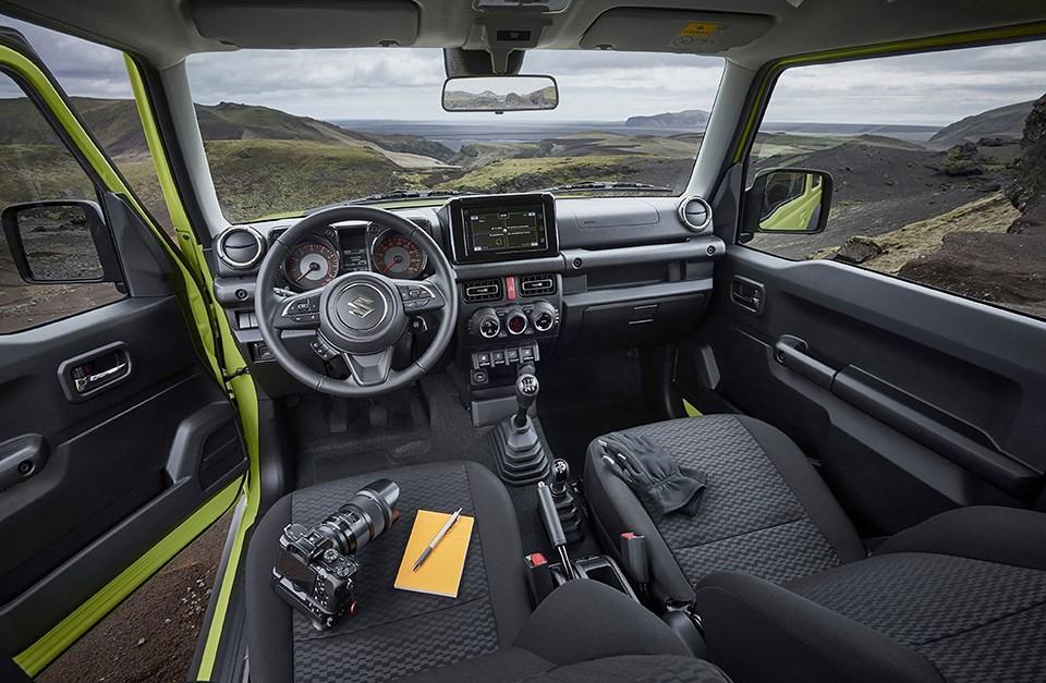 Suzuki Jimny 2019 interior cabin design