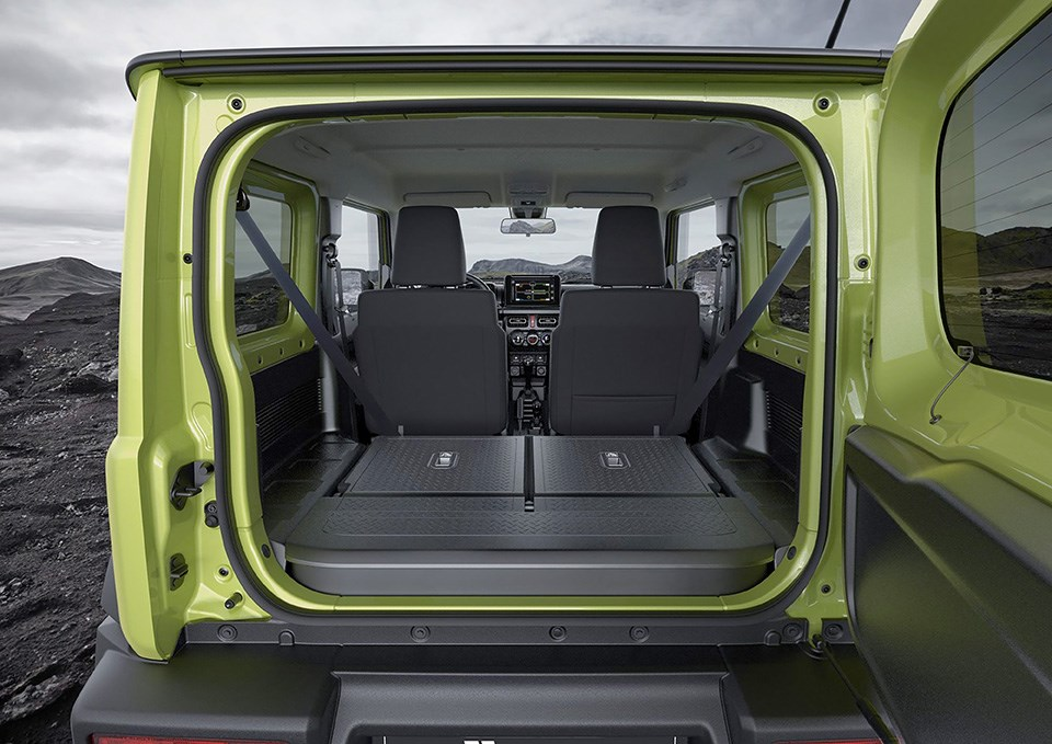 Suzuki Jimny 2019 boot size