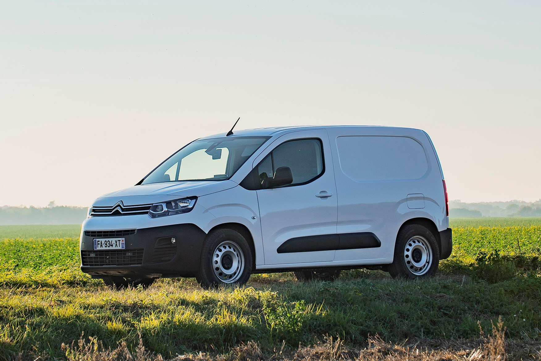 Citroen Berlingo review - driving, white, front view