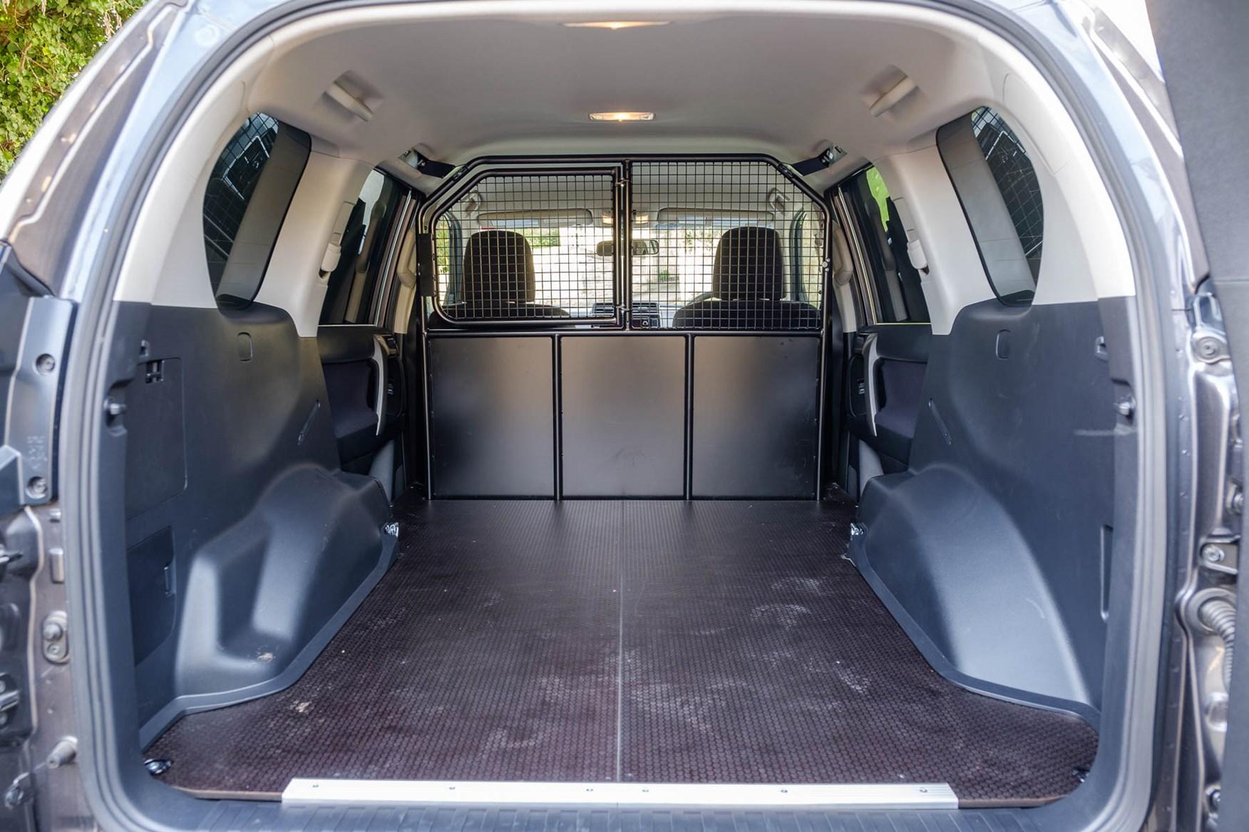 Toyota Land Cruiser Utility Commercial LWB interior