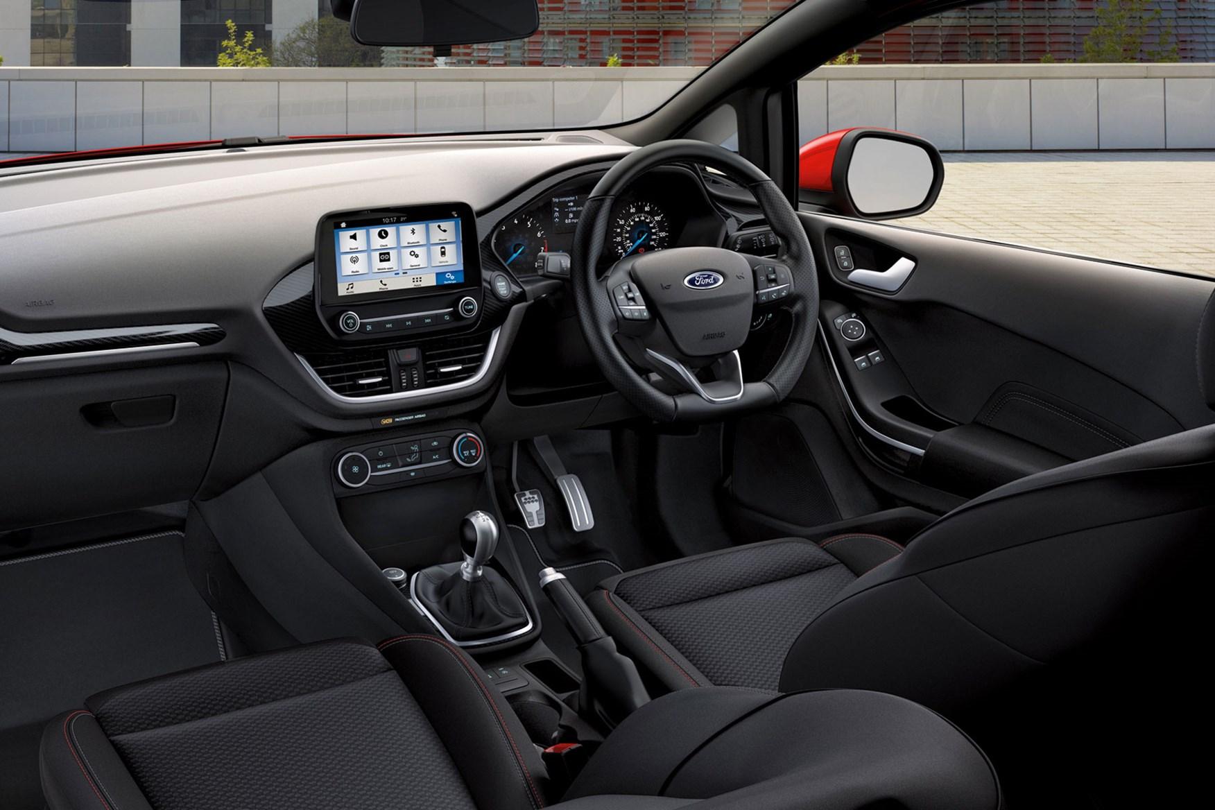 Ford Fiesta Sport Van review - interior