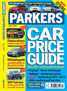 Parkers Car Price Guide Front Cover