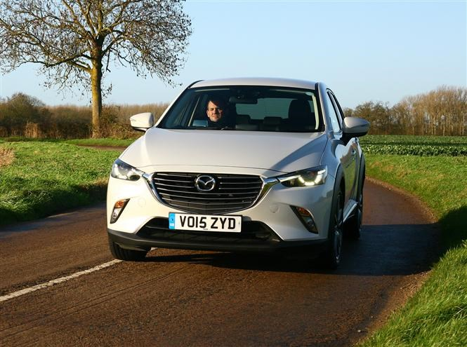 Small economical 4x4s - Mazda CX-3