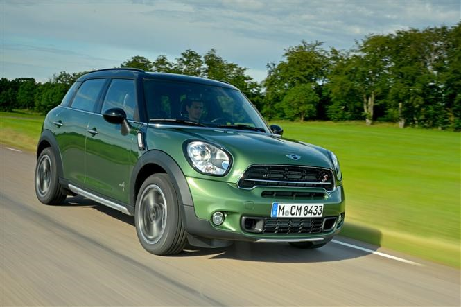 Small economical 4x4s - MINI Countryman