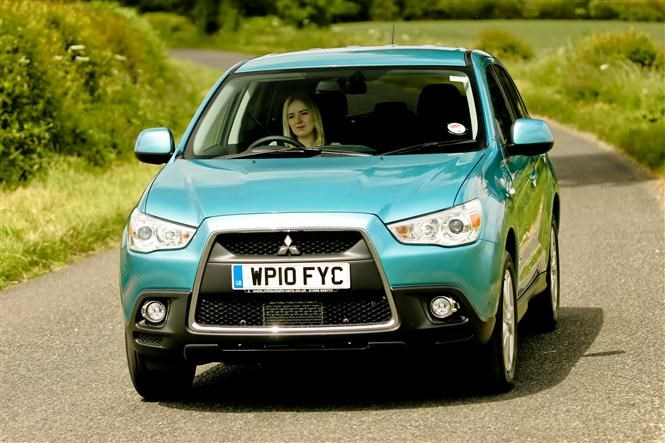 Small economical 4x4s - Mitsubishi ASX