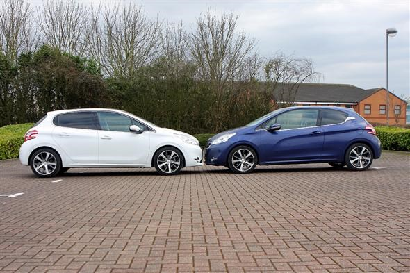 Peugeot 208 three five door & Three doors or five \u2013 which should you go for? | Parkers