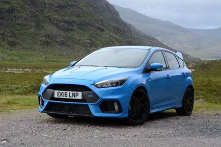 Ford Focus Rs On The North Coast 500