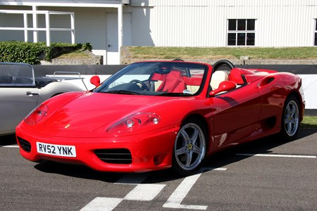 Used Ferrari 360 Spider 2000 2004 Review Parkers