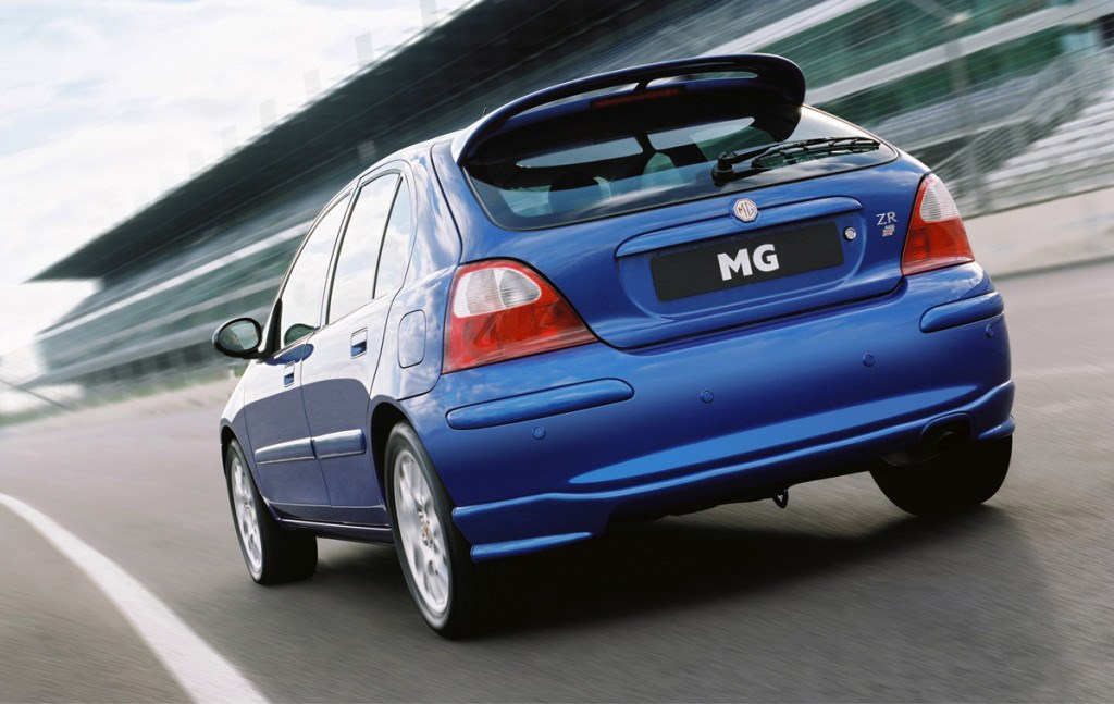 Mg Zr Hatchback 2001 2005 Driving Amp Performance Parkers