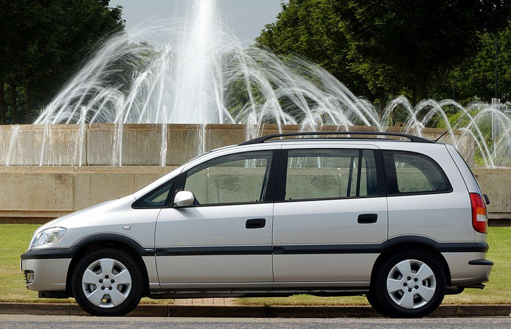 Vauxhall Zafira Estate Review 1999 2005 Parkers