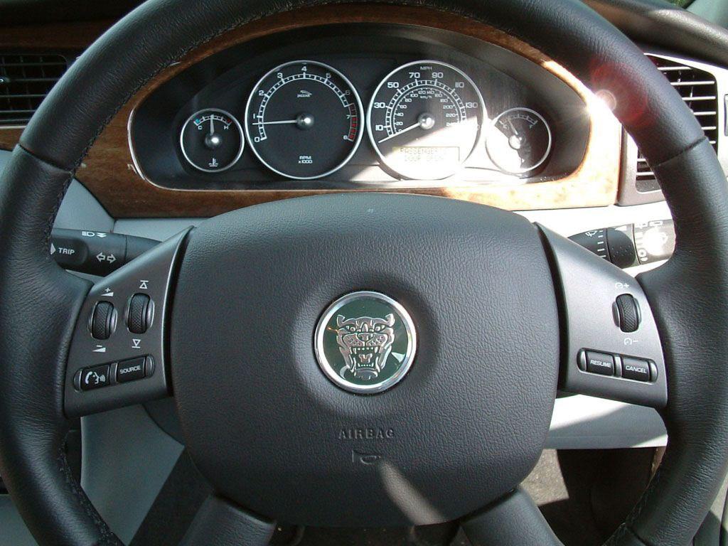 jaguar x type 2009 interior
