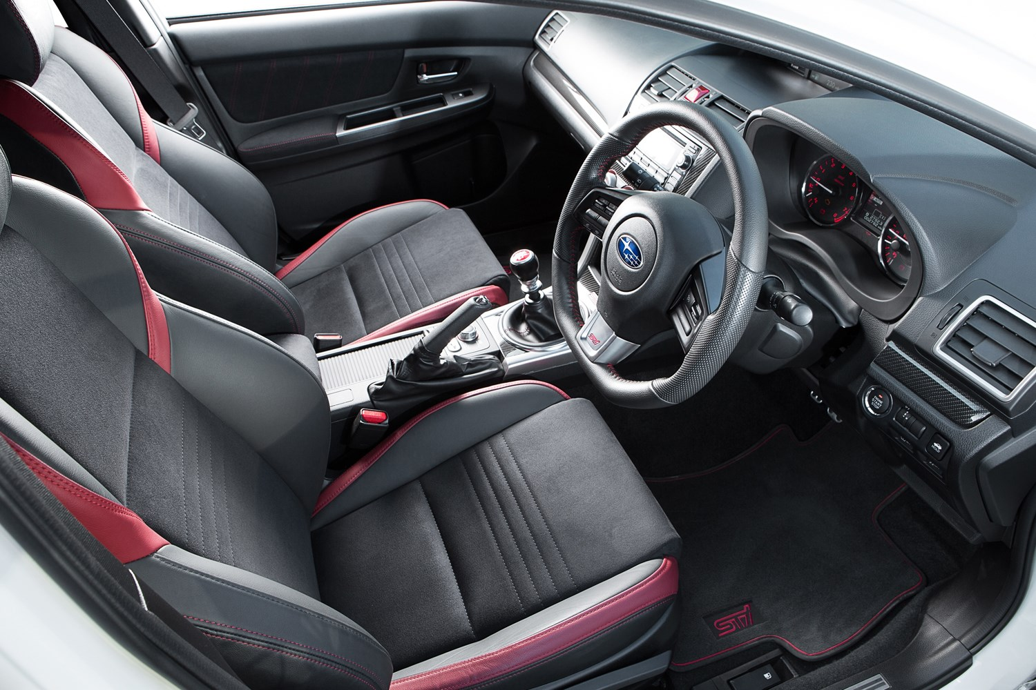 subaru wrx sti 2014 2017 features equipment and accessories parkers. Black Bedroom Furniture Sets. Home Design Ideas