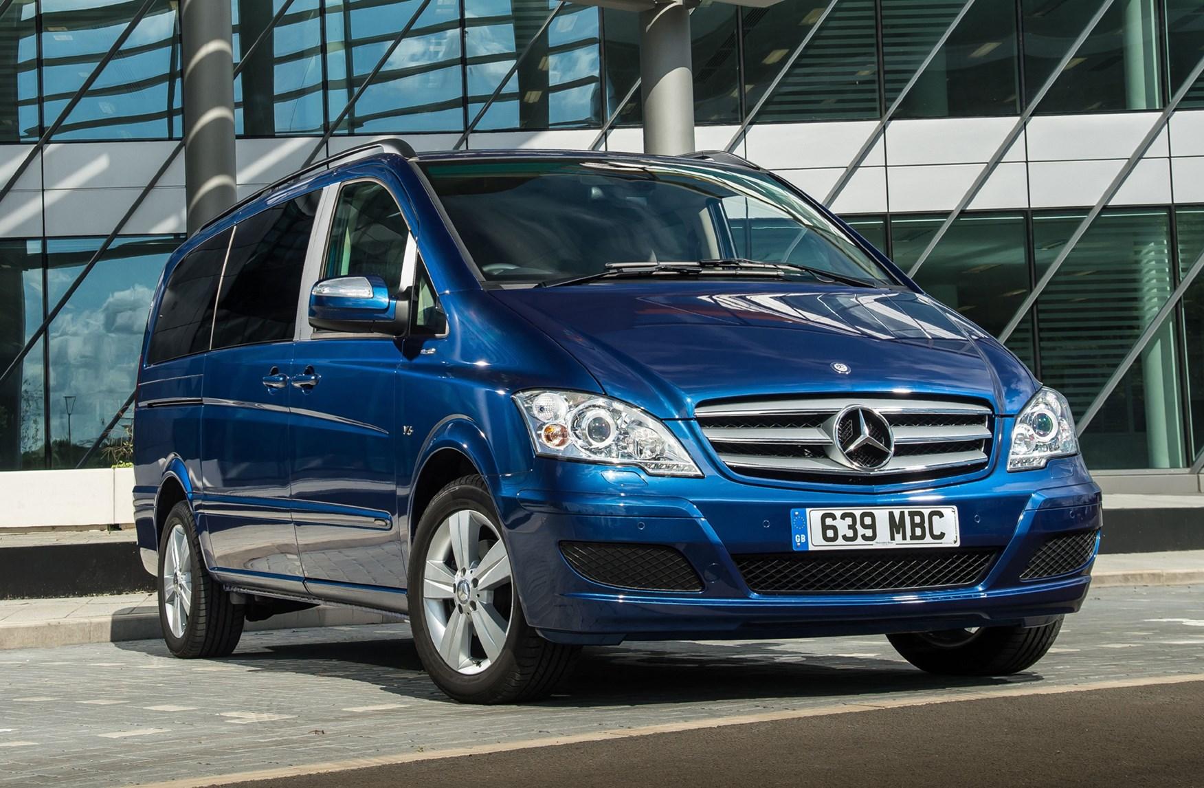 Mercedes Benz Viano Estate Review 2004 2014 Parkers
