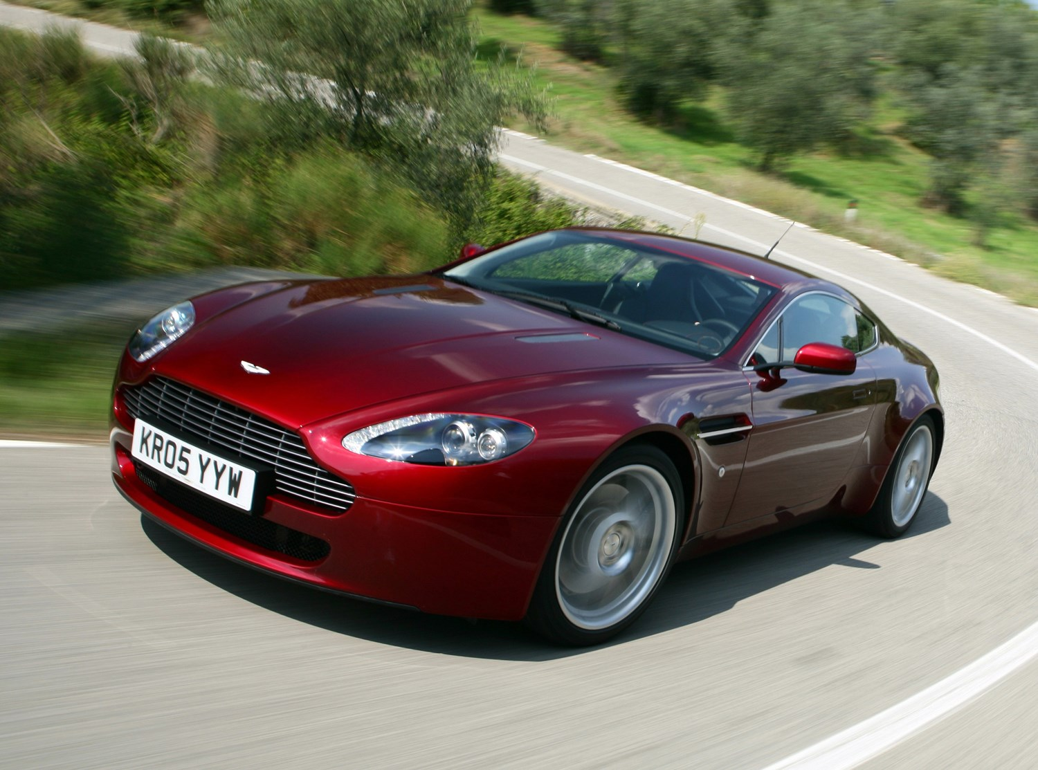 Aston Martin Vantage Coupe Running Costs Parkers - How much is a aston martin