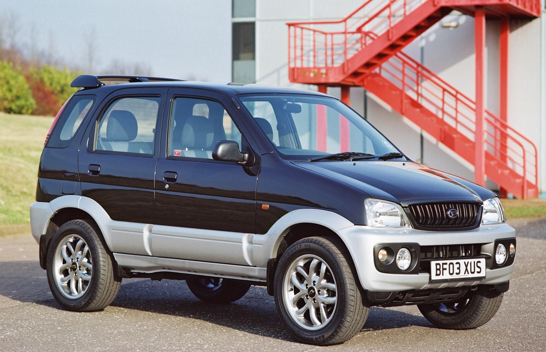 Daihatsu Terios Estate 1997 2005 Features Equipment