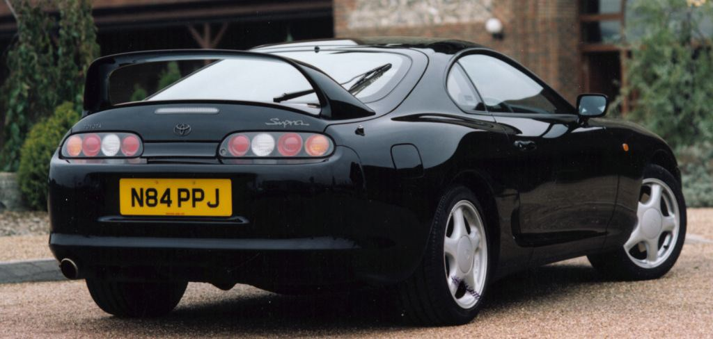 toyota supra hatchback review 1993   1996 parkers