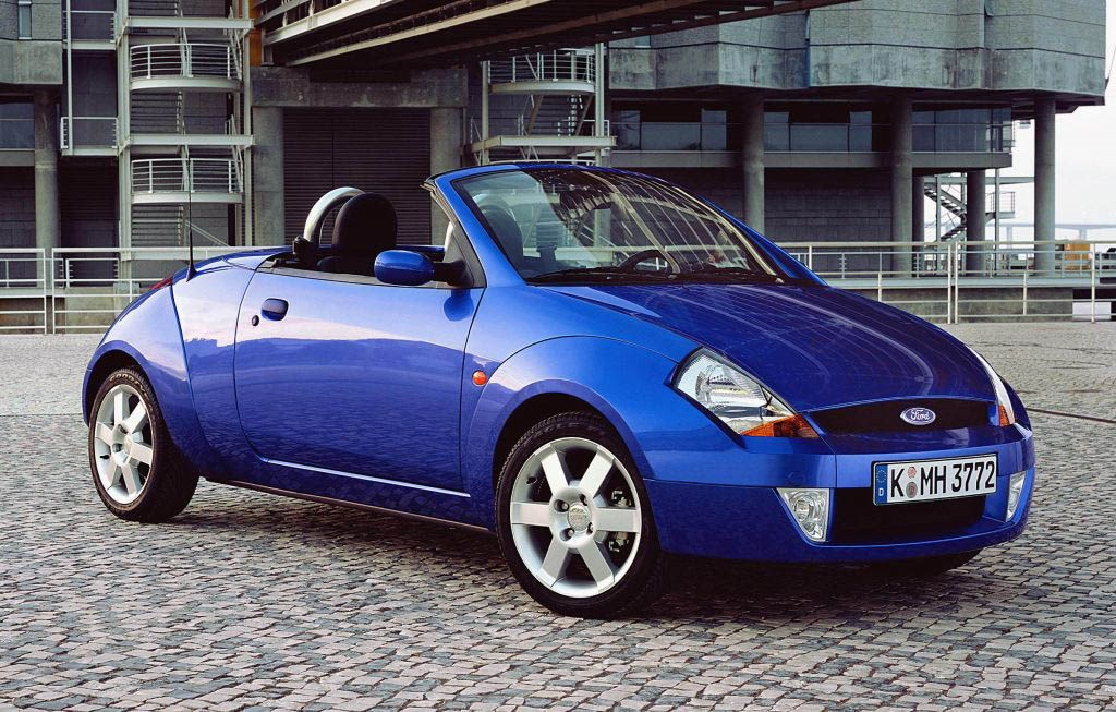 Ford StreetKa Roadster Review 2003