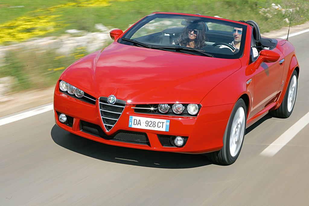 Used Alfa Romeo Spider Convertible 2007 2010 Review