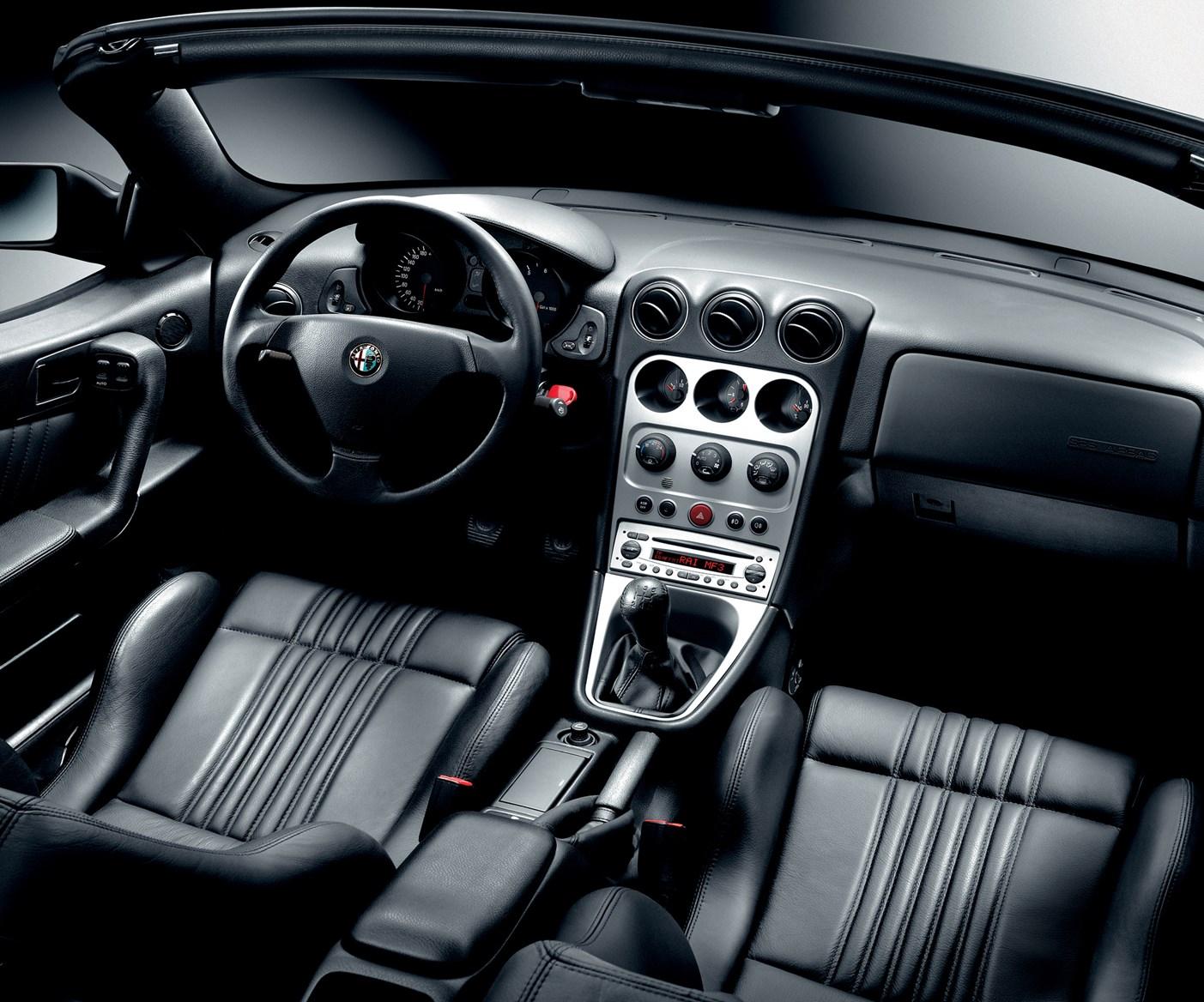 Alfa Romeo Spider Convertible Features Equipment And - Alfa romeo spider accessories