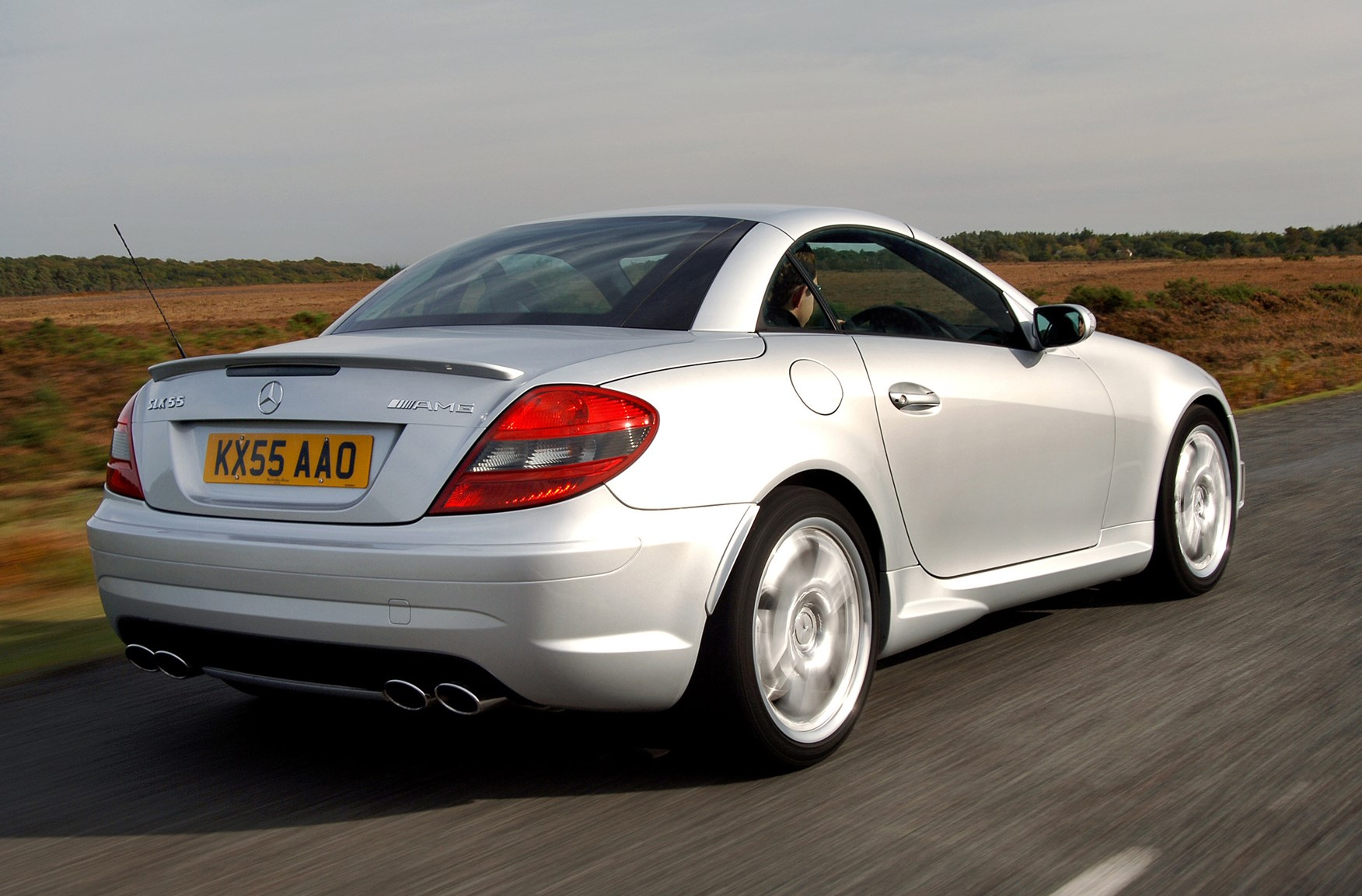 Mercedes benz slk amg review 2004 2010 parkers for How much is mercedes benz