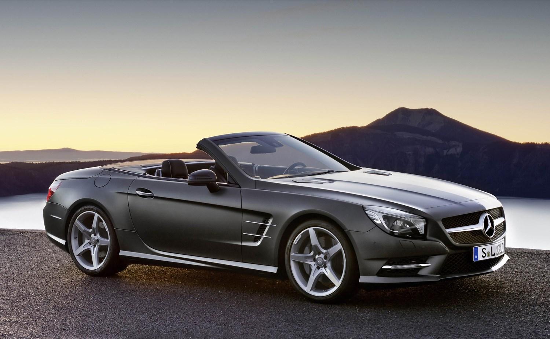 Mercedes benz sl class convertible review 2012 parkers for Mercedes benz sl550 convertible