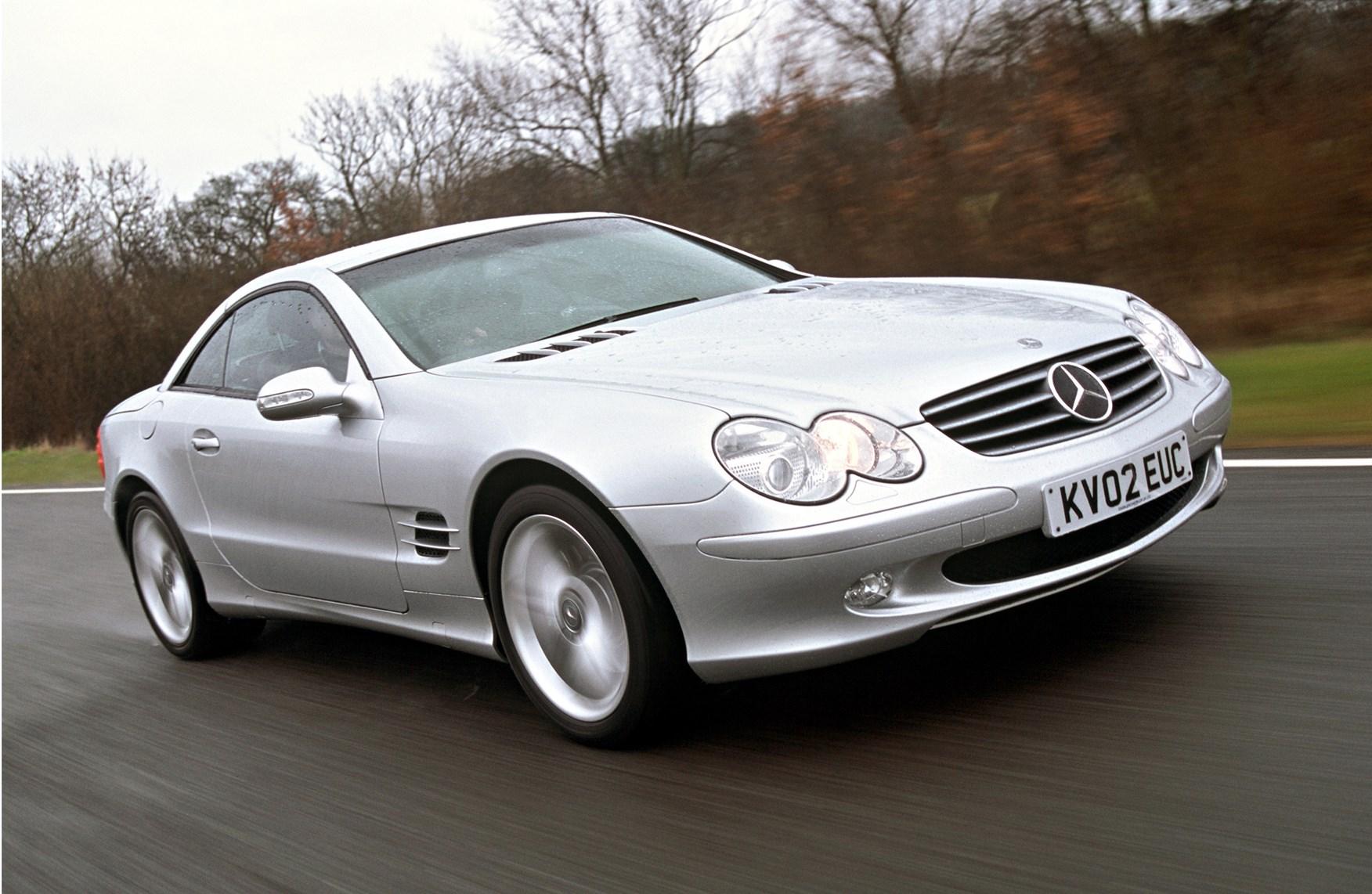 Mercedes Benz SL Class Convertible 2002 2011 Rivals