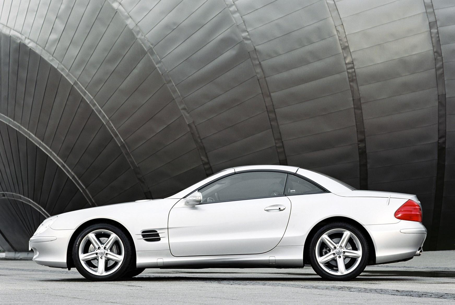 Review: Mercedes R230 SL-Class (2002-12)   SL350, SL500, SL600