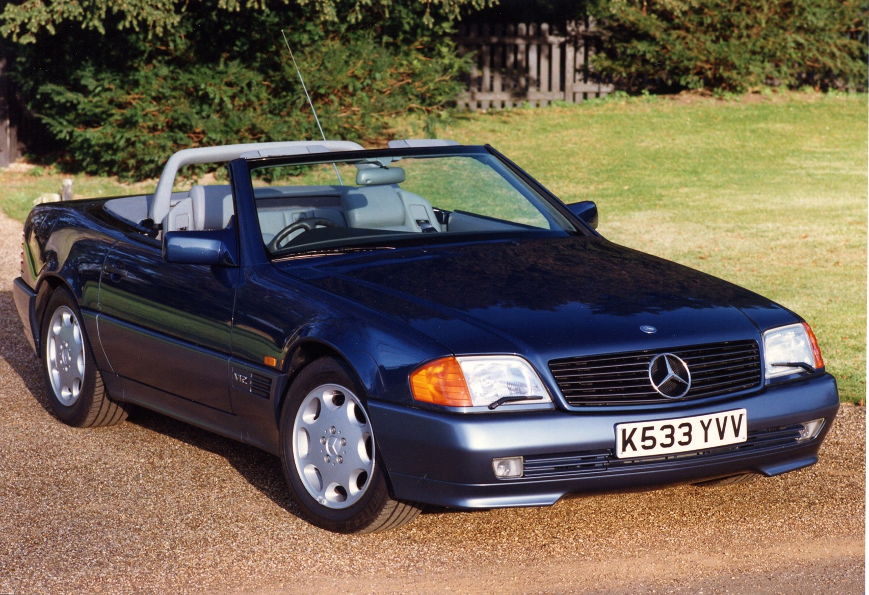Mercedes Benz Sl Class Convertible 1989 2002 Features