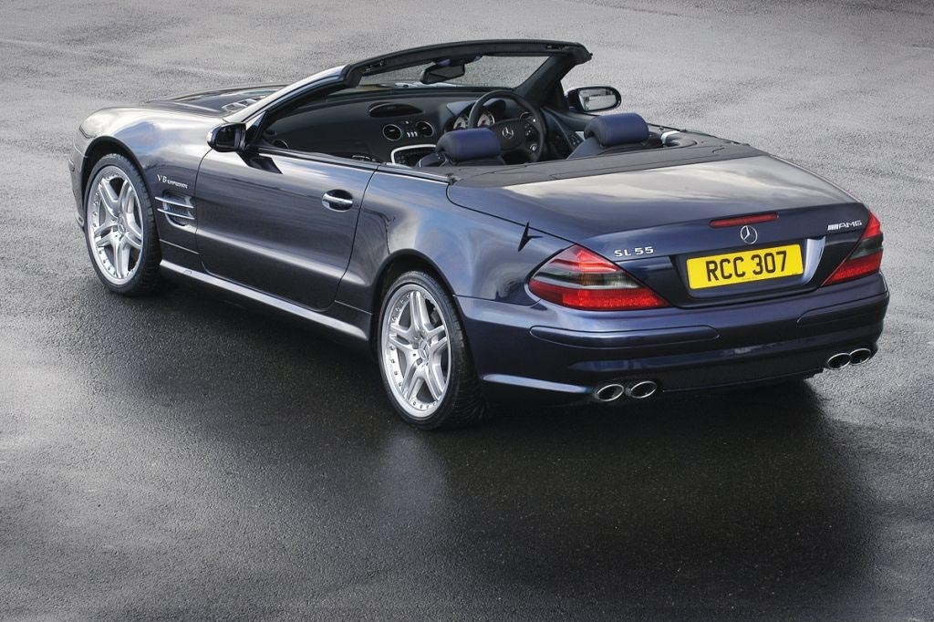 Mercedes benz sl class amg review 2002 2011 parkers for How much are mercedes benz