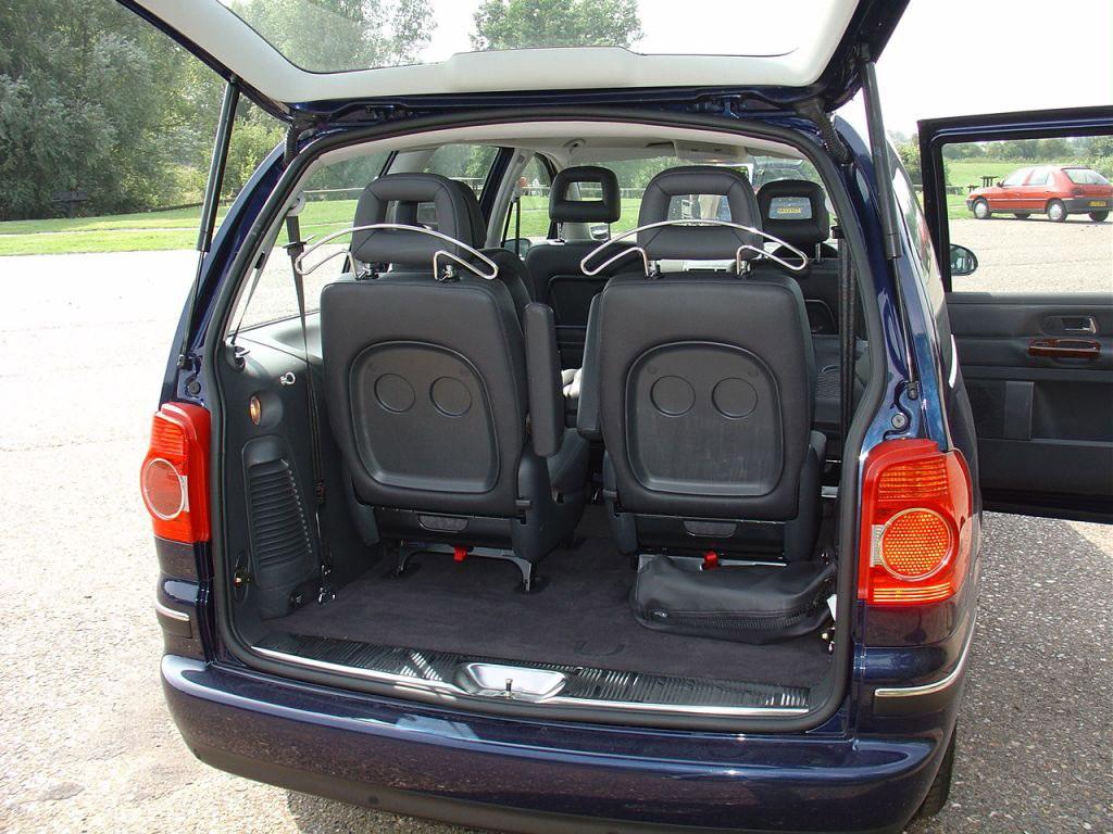 Used Volkswagen Sharan Estate (2000 - 2010) Practicality | Parkers
