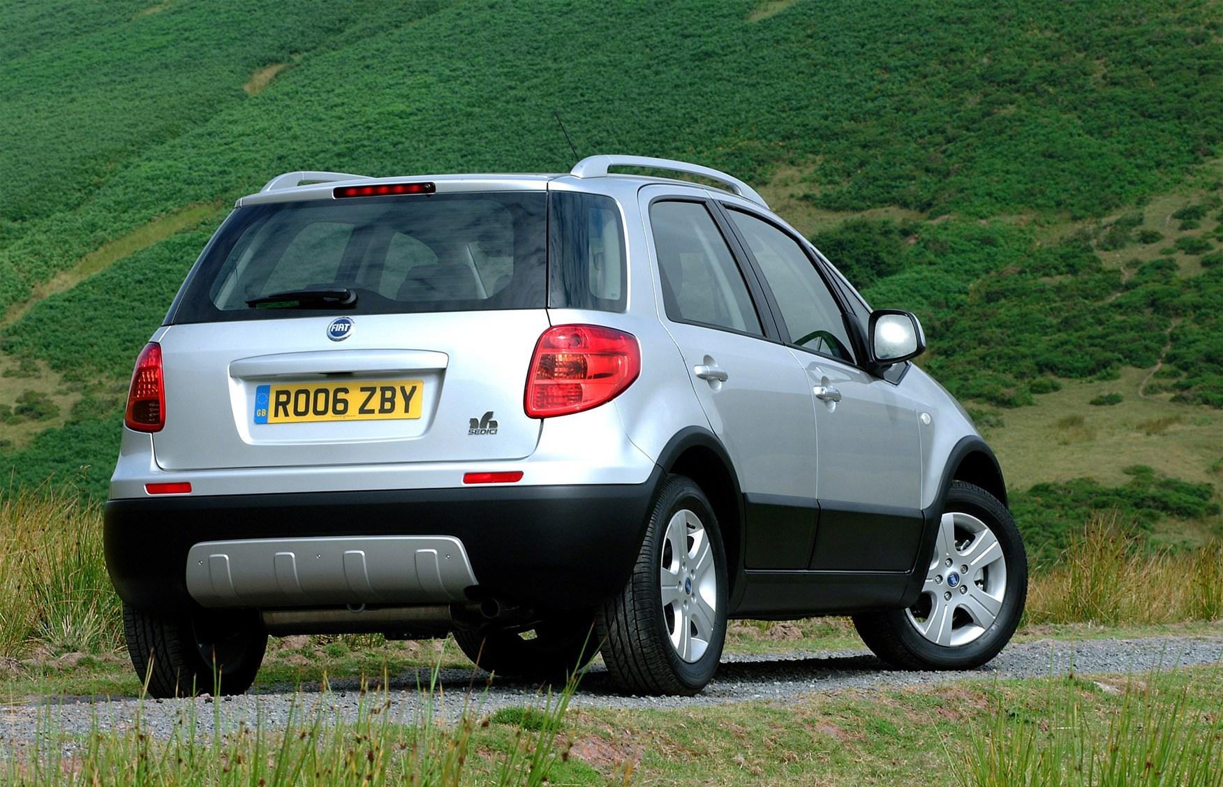 Fiat Sedici Hatchback Review (2006 - 2011) | Parkers on fiat brava, fiat panda, fiat ulysse, fiat uno, fiat barchetta, fiat idea, fiat bravo, fiat cinquecento, fiat suv in india, fiat grande punto, fiat ducato, fiat croma, fiat marea, fiat multipla, fiat punto, fiat stilo, fiat doblo, fiat scudo, fiat fiorino, fiat coupe, fiat seicento,