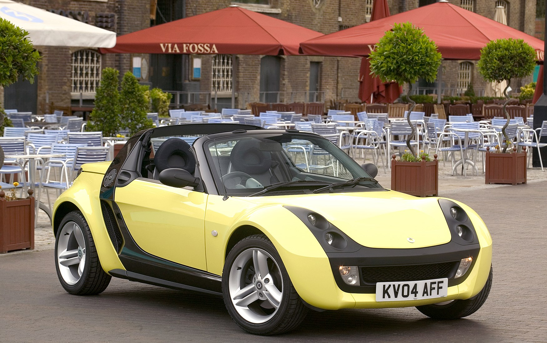smart roadster roadster review 2003 2007 parkers. Black Bedroom Furniture Sets. Home Design Ideas