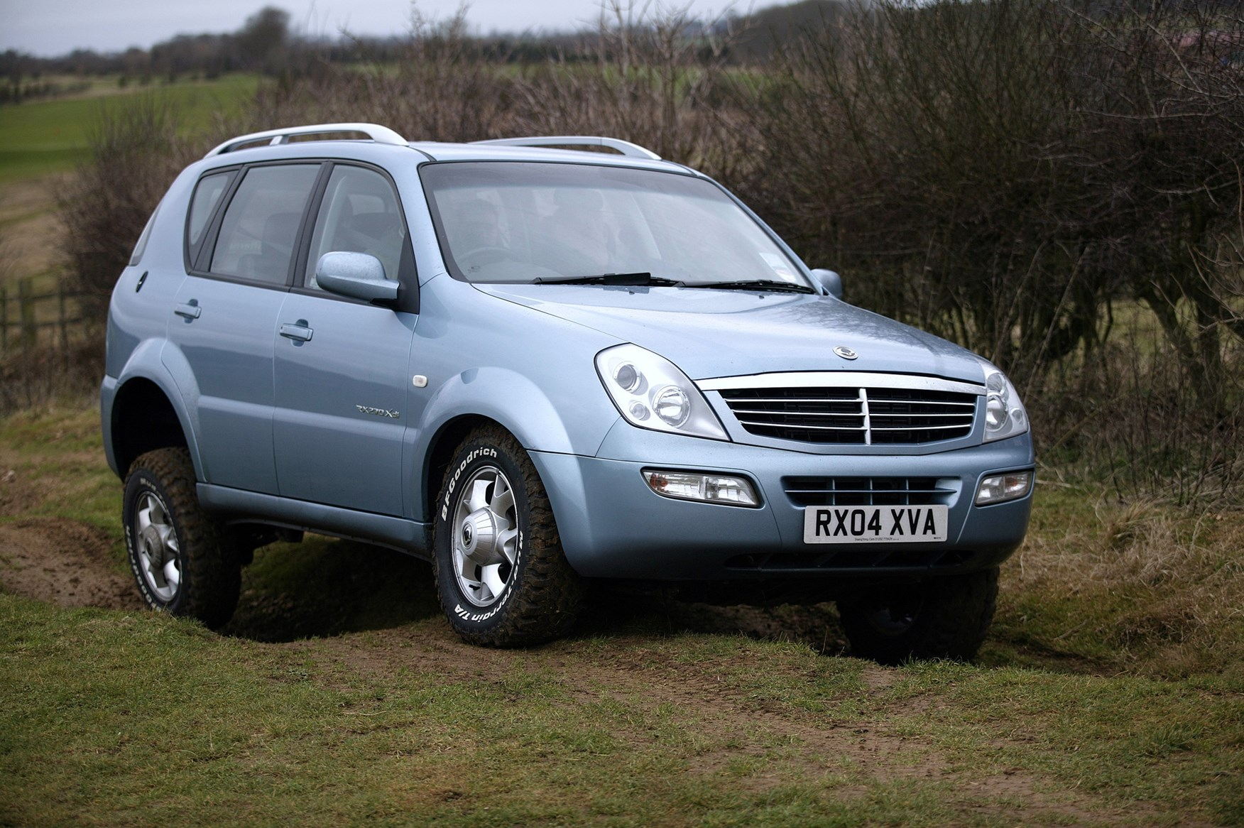 ssangyong rexton estate review 2003 2013 parkers. Black Bedroom Furniture Sets. Home Design Ideas