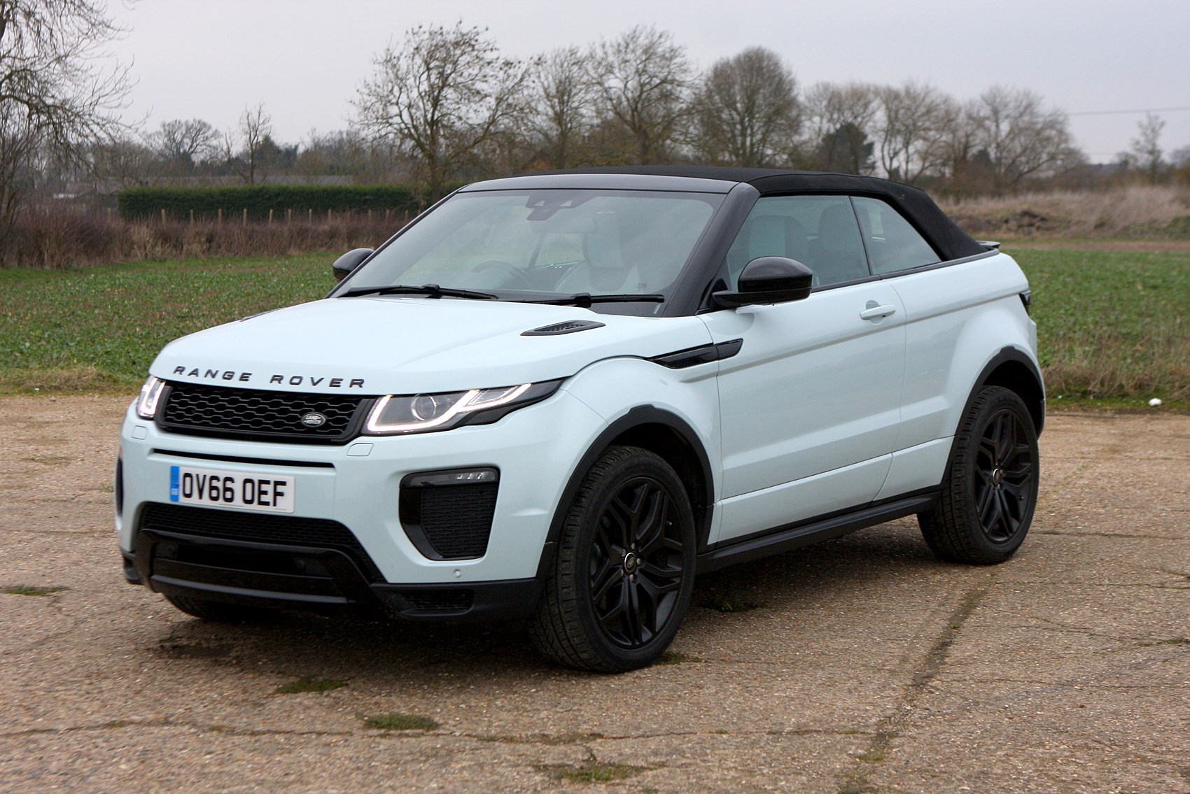 land rover range rover evoque convertible review parkers