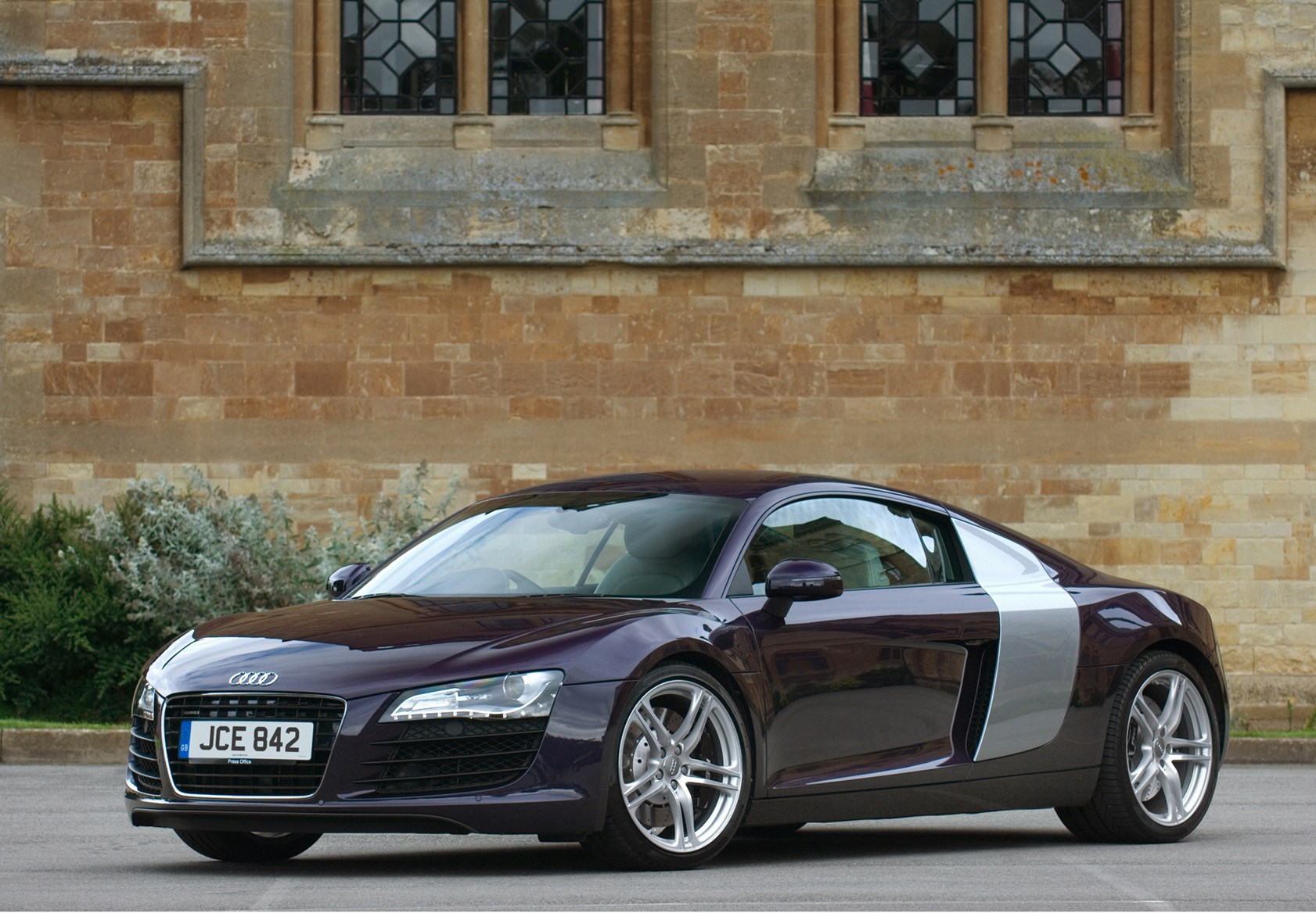 audi r8 coupe review 2007 2014 parkers. Black Bedroom Furniture Sets. Home Design Ideas