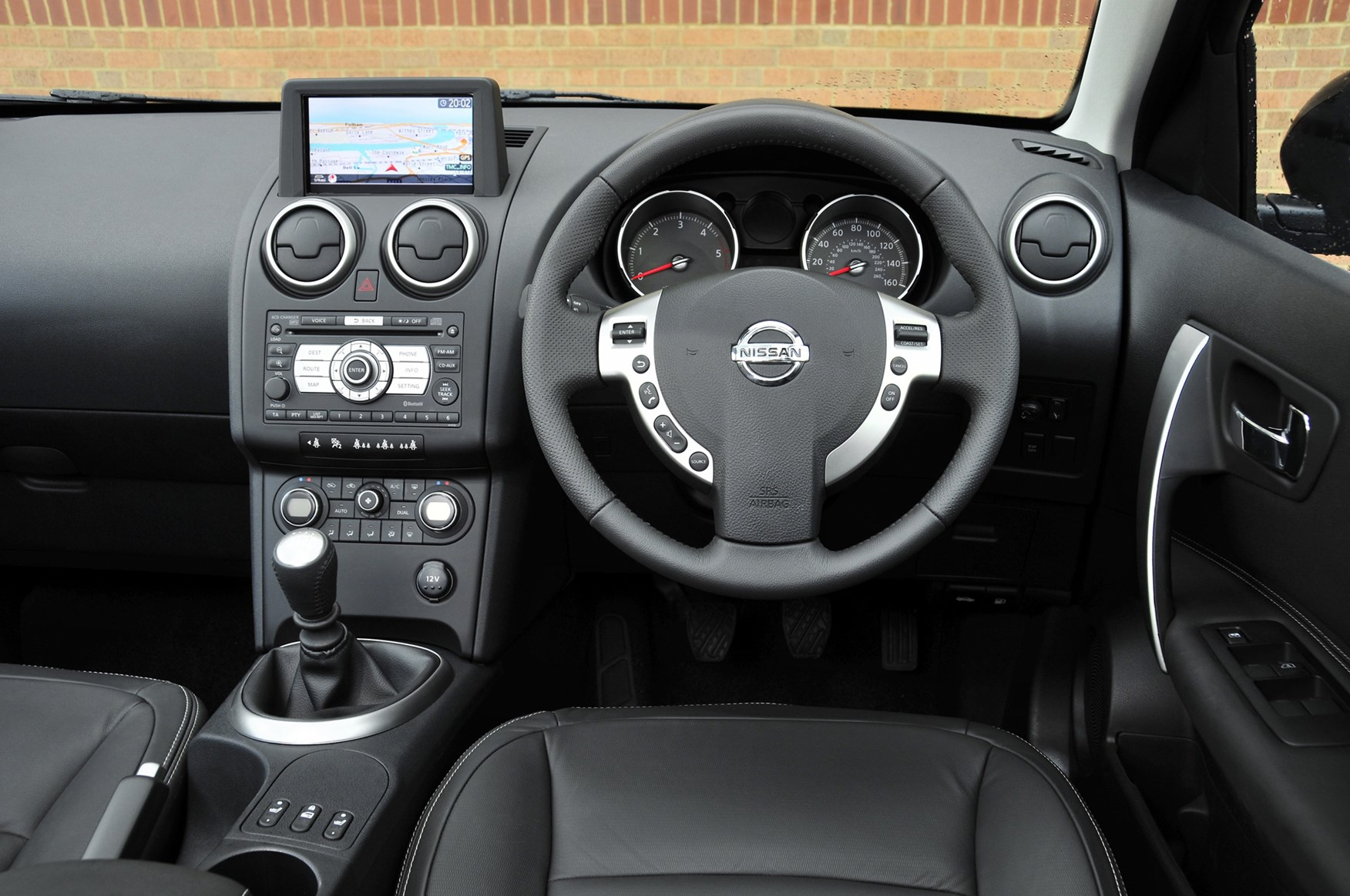 Nissan qashqai 2 estate review 2008 2013 parkers for Interior nissan qashqai